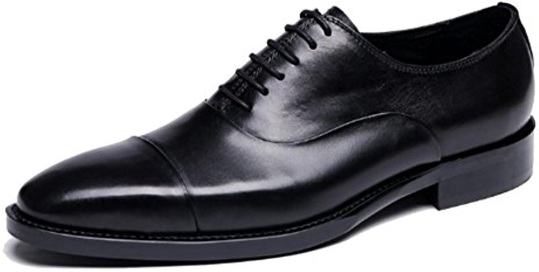 ZPJSZ Männer Vier Jahreszeiten Ochse Britisch Mode Martin Stiefel Jugend Schnürsenkel Lederstiefel