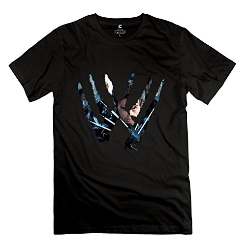StaBe Men Wolverine XMen Logo T-Shirt Unique Vintage