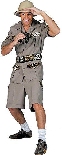 Seiler24 Cooles Safari Kostüm für Herren Größe (Männer Party Dschungel Kostüme)