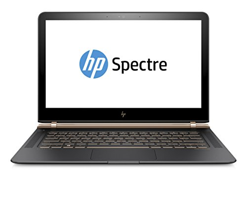 HP Spectre (13-v102ng) Y5U21EA#ABD 33,8 cm (13,3 Zoll / Full HD IPS) Laptop (Ultrabook mit: Intel Core i7-7500U, 256 GB SSD, 8 GB RAM, Intel HD Graphics, Windows 10 Home) Dark Ash Silber (Bluetooth-adapter Hp)