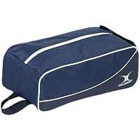 Gilbert Club - Bolsa para material de rugby (bota), color azul/azul marino, talla 0