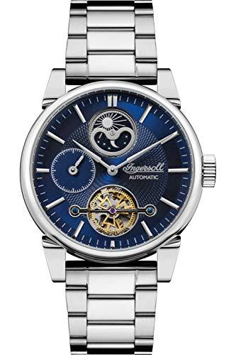 Ingersoll The Swing Reloj para Hombre Analógico de Automático con Brazalete de Acero Inoxidable I07501