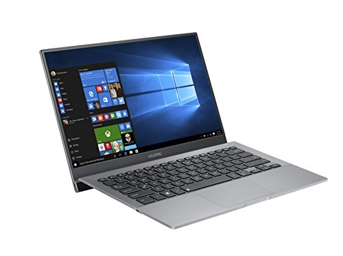 ASUS B9440UA-GV0028R-OSS 14-inch Professional Laptop (Grey) - (Intel Core i5-7200U Processor, 8GB RAM, 512GB SDD, Windows 10 Professional, Bluetooth 4.1, Fingerprint Reader)