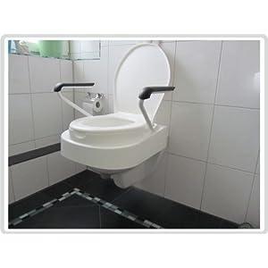 Toilettensitzerhöhung mit Armlehnen Relaxon Star HVM.-Nr. 33.40.01.3015