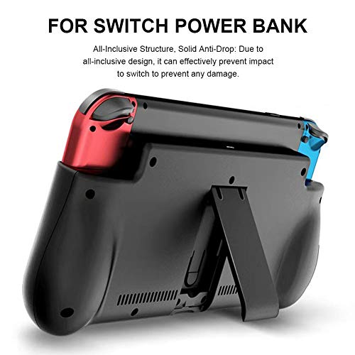 Finelyty Portable Power Charger Bank Für Schalter, Wiederaufladbare Extended Battery Charger Case, Reise-Backup-Akku -