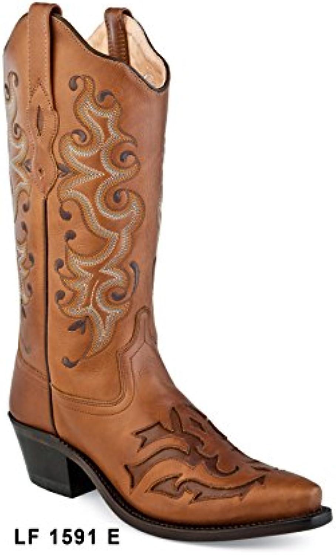 OLD WEST Botas Cowboy/Vaqueras Mujer Modelo LF1591E Tamaño 37