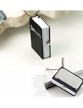 redcrest (TM) Neue einzigartige Death Note Bronze Halskette Kette Taschenuhr Geschenk