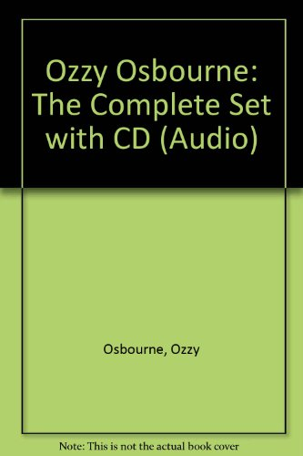 Ozzy Osbourne: The Complete Set with CD (Audio)