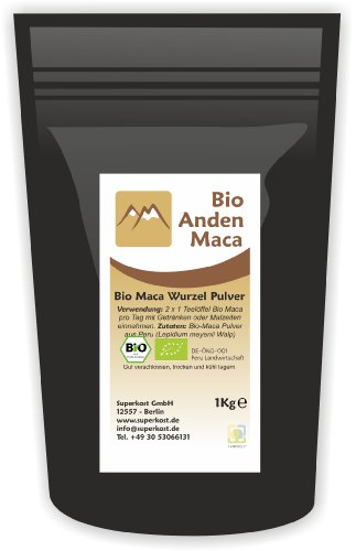 anden maca bio wurzel pulver organic kba aus peru 1er pack 1 x 1 kg uhrpreisbewertung. Black Bedroom Furniture Sets. Home Design Ideas