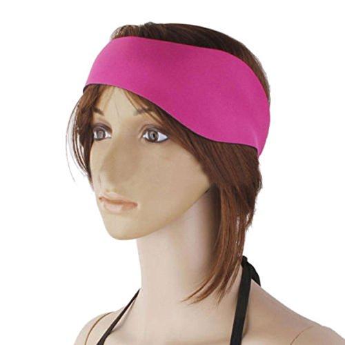 Rosepoem Schwimmen Stirnband -Elastic Swim Hair Guard & Ear Guard Wasserdichte Ohrenschützer Ohr Band Erwachsene Kinder, halten Ohrstöpsel Kinder-elastic