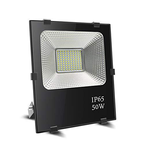 Foco led 50w, BeiLan LED Foco proyector exterior Super brillante 100 LED...