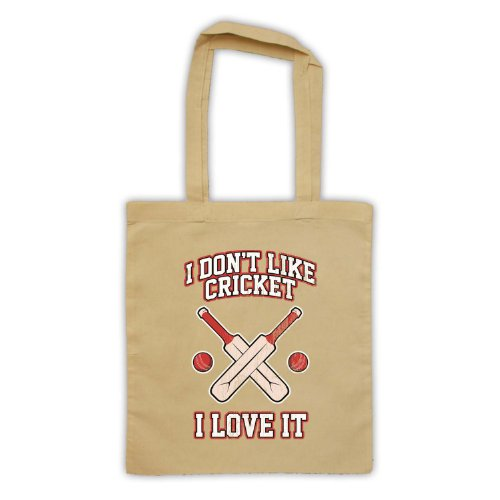 I Don't Like Cricket, I Love It-Borsa natur
