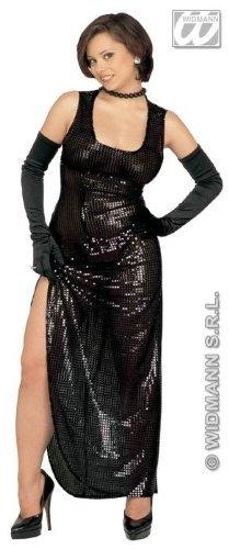 Pailletten-Kleid Celebrity, schwarz, Größe -