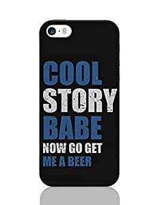 PosterGuy iPhone 5 / iPhone 5S Case Cover - Get Me A Beer | Designed by: Creative Monk