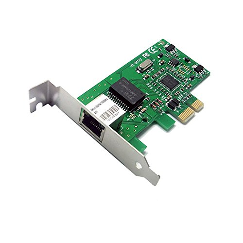 Q93 PCI-E Gigabit 10/100/1000Mb Ethernet LAN Netzwerk Karte PCI-Express RJ45 PC
