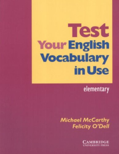 Test Your English Vocabulary in Use: Elementary by Michael McCarthy (2004-02-12)