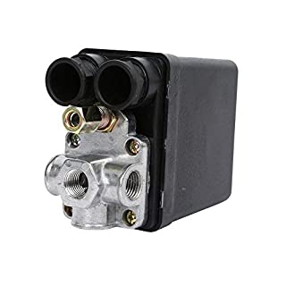 Mongoliah Hochdruck-Luftkompressor-Druckschalter Steuerventil 90 PSI -120 PSI