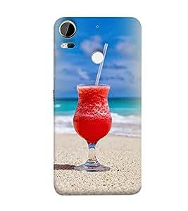 PrintVisa Designer Back Case Cover for HTC Desire 10 Pro (Beach)