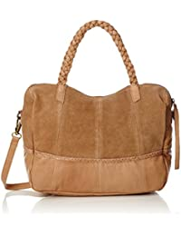 PIECES Pccameo Leather Bag - Shoppers y bolsos de hombro Mujer