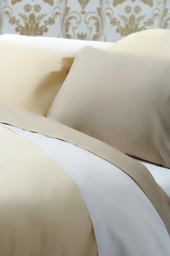 Bedding Direct UK Ägyptische Baumwolle, 200TC Perkal Bettbezug (weiß) (König) -