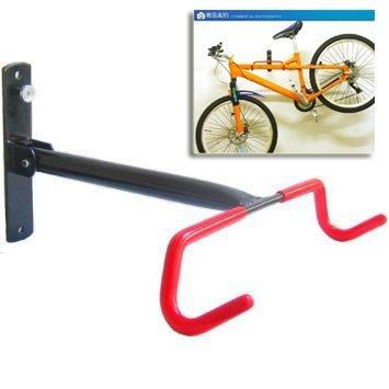 Sunspot, supporto e gancio ripiegabile a muro per il garage, per riporre la bicicletta, 0,9 kg