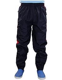 New Men Stripe Bottines de survêtement Tracky Zip Zip Pocket Sports Pantalon élastiqué