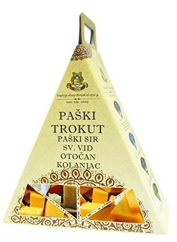 Pager Käse – PAŠKI SIR Käse Delikatessen Geschenkideen Box Trokut
