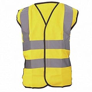 Yoko Hi-Vis Childrens Unisex Waistcoat / Jacket (7-9) (Hi-Vis Yellow)