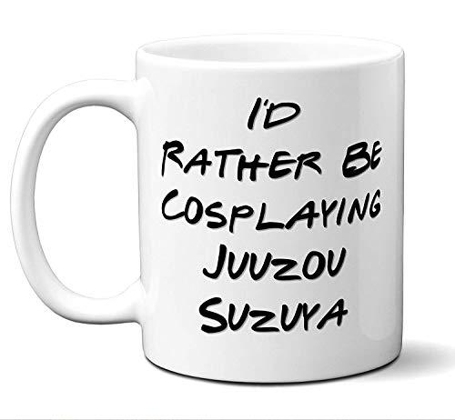 sodnz Lustiger Juuzou Suzuya ist eher Cosplaying Kostüm-Liebhaber-Becher, Kaffee, Tee-Schale. Ideales Neuheits-Geschenk für Tokyo-Ghul-Fans Manga, Otaku, Japan, japanische Anime-Liebhaber. 11 oz. (Kaffee Becher Kostüm)