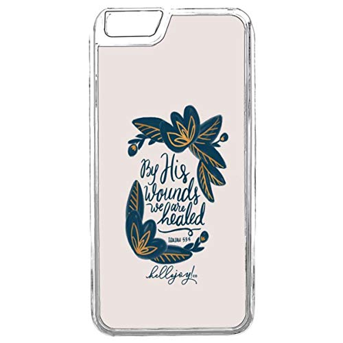 Guuhuu iPhone 6 Hülle Cover,iPhone 6S Bibel Atheisten Hülle,iPhone 6 Psalm Bible Verse Songs TPU Hülle Life Quotes Bible Verses Funktionale Schütz Hülle für iPhone 6 / 6S