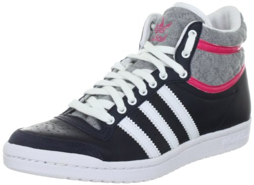 Adidas - Scarpe sportive - Basketball Top Ten Hi Sleek W, Donna Nero