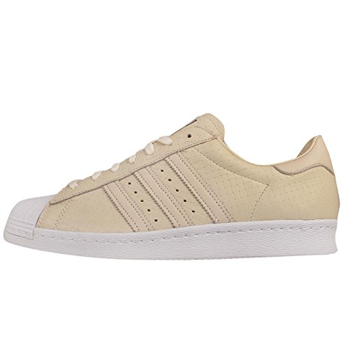 adidas Superstar 80s Woven Uomo Sneaker Bianco Bianco