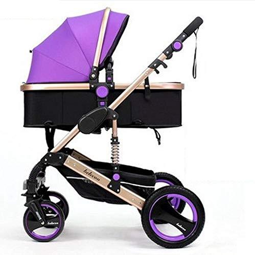 Yunfeng Kinderwagen High-Ansicht Kinderwagen kann gefalteten bidirektionale vierrädrigen Fahrwerk...