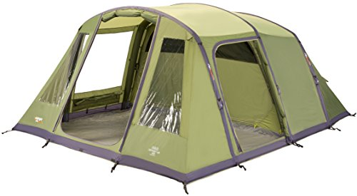 Vango Odyssey Air Beam 600 Inflatable Tunnel Tent – Epsom Green, 6 Persons