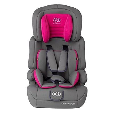 Kinderkraft Kinderautositz Comfort Up Autokindersitz Autositz Kindersitz 9-36kg Gruppe 1 2 3 ECE R44/04 geprüft 5-Punkt-Sicherheitsgurt Rosa