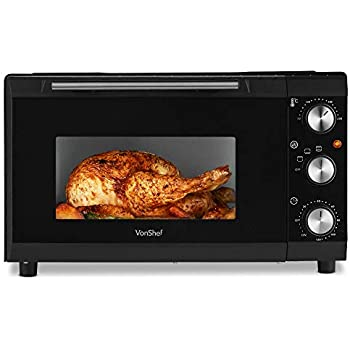 De Longhi Ro191 Electric Table Top Fan Oven Black And