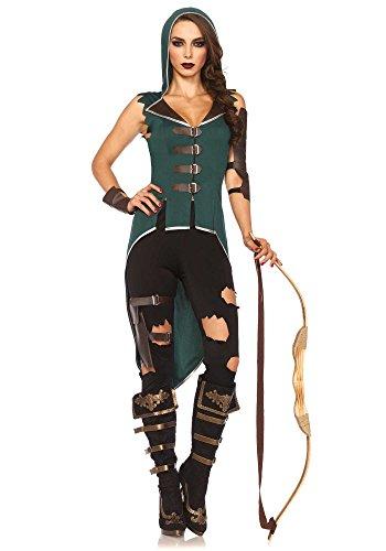 Kostüme Frauen Robin (Leg Avenue 85468 - Rebel Robin Hood-Kostüm, Größe Small (EUR)