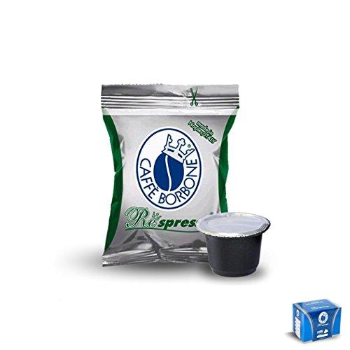 Caffè Borbone - Descafeinado 50 Capsulas de Cafè Respresso Compatible Nespresso