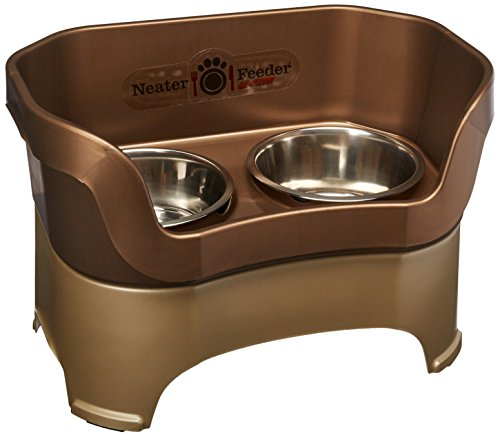 Neater Feeder Deluxe for Large Dogs in Bronze by Neater Pet Brands