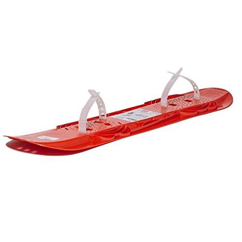 Skidsters Snow Glider Snow Board 100cm optional Fußschlaufen enthalten (Glider Snow)