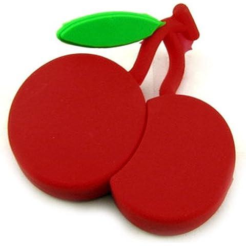 818-shop no16900080032 Hi-Speed 2.0 USB PenDrive 32GB ciliegia tutti frutti rosso