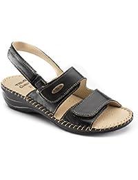 Amazon Donna Sandali it Scarpe Comodi E Borse Pantofole Da YYgqr