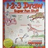 1-2-3 Draw Super Fun Stuff: 5 Books in One
