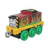 TRENINO THOMAS- Trackmaster Locomotiva a Ruota Libera Salty Il Marinaio, Giocattolo per Bambini 3+ Anni, GHK62