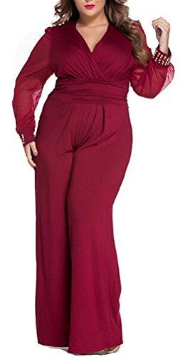 SunIfSnow - Combinaison - Uni - Sans Manche - Femme red