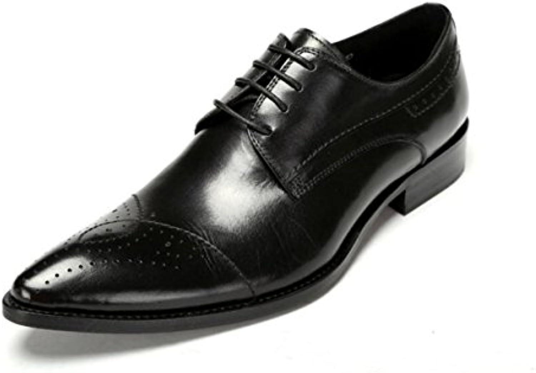 Zapatos De Trabajo Zapatos De Hombre Zapatos De Negocios Zapatos De Banquete Zapatos De Boda De Encaje -