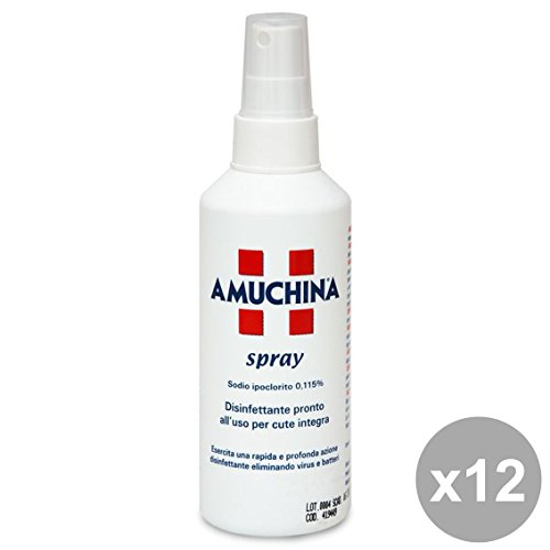Set 12 AMUCHINA Disinfettante Spray 200 Ml. Detergenti casa