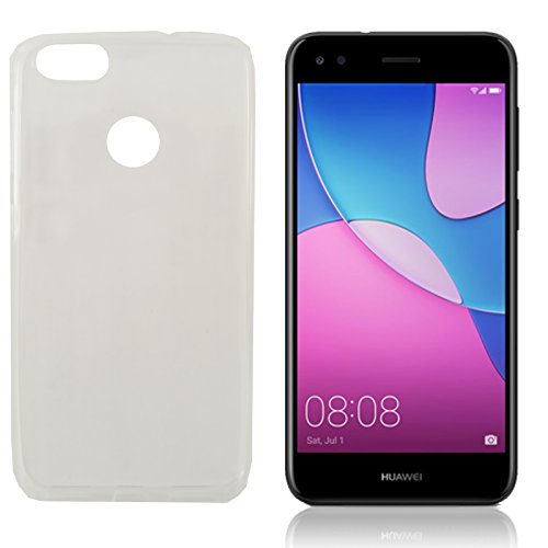 MOELECTRONIX TPU TRANSPARENT Silikon Schutzhülle Soft Case Tasche Hülle für Huawei Y6 Pro 2017 Dual SIM SLA-L22