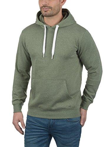 SOLID Olli Herren Kapuzenpullover Hoodie Sweatshirt aus hochwertiger Baumwollmischung Meliert Climb Ivy Melange (8785)