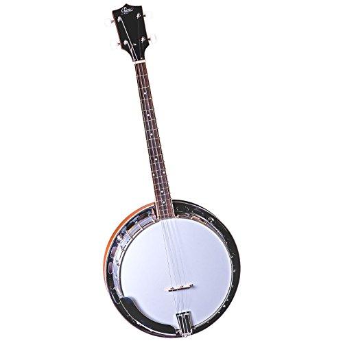 Saga RB-35T Tenor Resonador 4-String Banjo